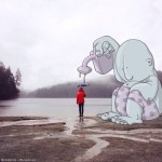 Lucas Levitan: foto stravolte