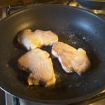 Filetto di maiale alle mandorle