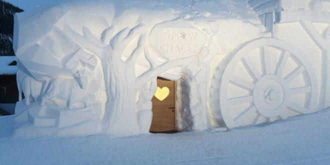 Snow dream experience: gli chalet di neve a Livigno dal 18 dicembre