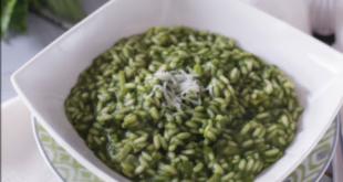 Risotto alle ortiche: il primo piatto verde, in tutti i sensi