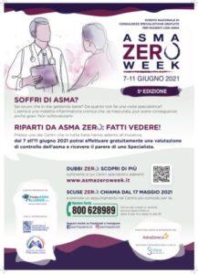 Asma Zero Week: consulti specialistici gratuiti per pazienti con asma